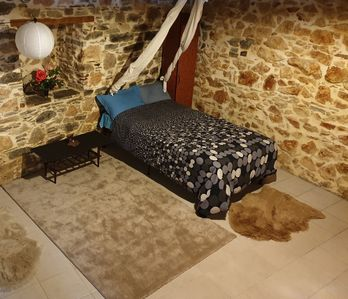 Photo for Renovated traditional stone house in Evia, Greece