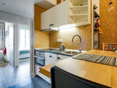 Photo for Beautiful 2 Bed with big terrace in Poble Nou