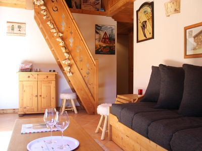 Photo for Méribel, Nice apartment, 5-6 pers, at the foot of the slopes.