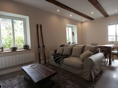 Photo for 4 **** 2 bedroom apartment for 4 to 6 people - in the center of Kaysersberg