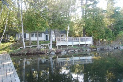 The Cottage as seen from the Dock