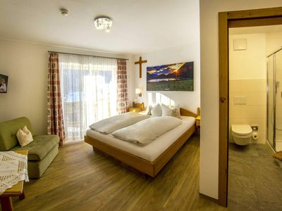 Photo for Double room with balcony 2 - Apartments and Pension Mariandl