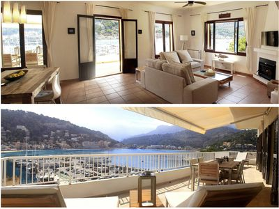 Photo for Seafront 2 bedroom apartment- near beach in the Port of Soller