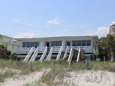Photo for Almost Heaven Oceanfront B- Oceanfront, Toes In The Sand, 2 BR 2 Bath Free WIFI