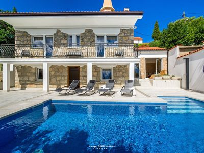 Photo for Lovingly restored stone villa 100 m from the sea