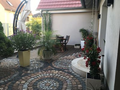 Photo for Beautiful apartment with a furnished terrace in Weimar