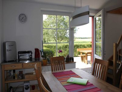 "Photo for Holiday rooms upstairs - Bed and Breakfast ""Aft Bäuken"""