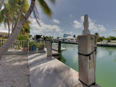 Photo for Waterfront home w/ 28ft. seawall, shared pool & beach access!