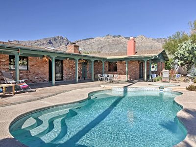 Photo for Tucson Home w/ Private Pool, Hot Tub & Mtn Views!
