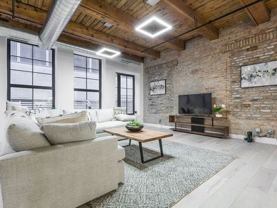 Photo for 3 BDR Downtown Luxury Loft-Spacious, Safe & Secure