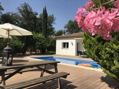 Photo for Villa Maravilla: private swimming pool, table tennis and air hockey, dog allowed