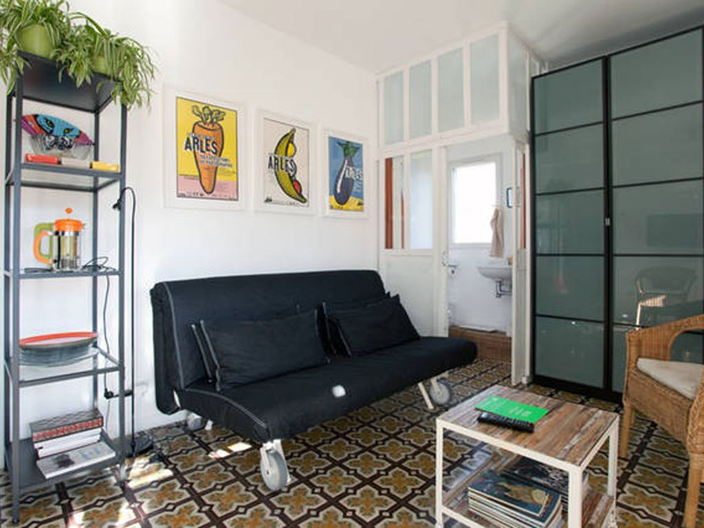 typical arlesian house with terrace and garage saliers par arles best places to stay. Black Bedroom Furniture Sets. Home Design Ideas