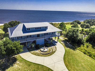 Photo for Beachfront Property in Ocean Springs, Overlooking the Gulf of Mexico