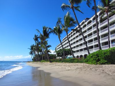 The beach at Lahaina Shores is just steps away!