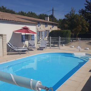 Photo for Heated pool near sea House Rental Tonnay-Charente Charente-Maritime