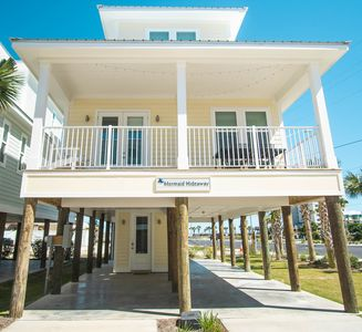 Photo for Mermaid Hideway|East Point Cottages|13 cottages|Gulf Shores|Across the street from the beach |Pool