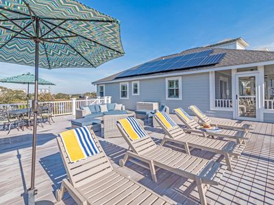 Photo for 3BR Coastal Retreat w/ Large Deck and Screened Porch -- Steps to Beach