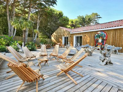 Photo for Villa Santa Maria The Sherwood ***, between forest and sea