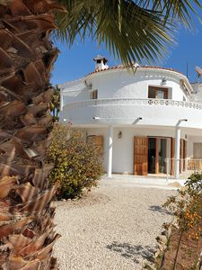Photo for Sunny and Beautiful Villa, Private Pool And Sea Views sleep for 8.
