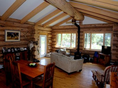 Photo for Log Home on 3 Acres minutes from Carbondale!