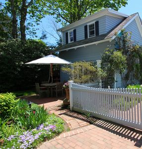 Photo for Charming and private cottage in Southampton Village