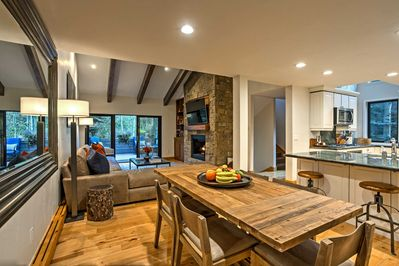 Fall in love with the home's crisp-yet-warm 2,000-square-foot interior.