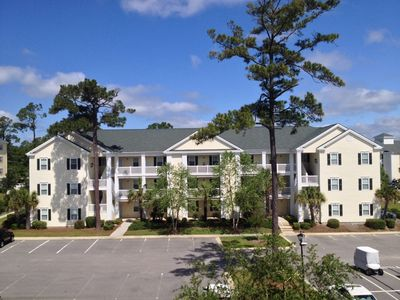 Exterior View of Building..  Our Condo is on The 1st Floor With Easy Access.