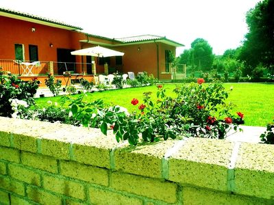 Photo for Villa  near Rome with private pool & park- 5km to Lake Vico- Close to Golf Club