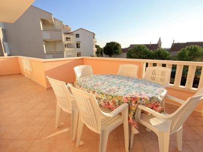 Photo for Two bedroom apartment with terrace Novalja, Pag (A-9403-d)