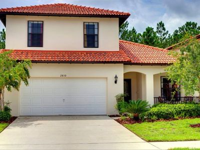 Photo for Family Villa; Heated Pool/Hot Tub, Wifi, Game Room, 2 living rooms,  WDW 6 miles