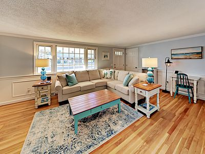 Photo for Updated Cape Cod Charmer w/ Game Room – Walk to Beach