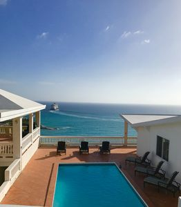 Photo for Breathtaking Views, Luxury Escape- 3 BR 2.5 Bath Oceanfront Villa with Pool