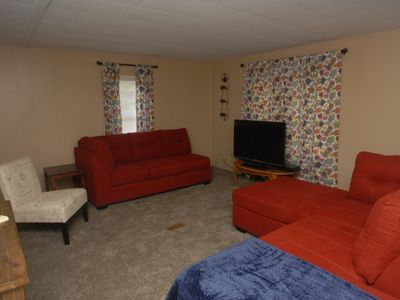 Photo for Close to everything, large yard, freshly decor,  LET US HOST YOUR SPECIAL TIME.
