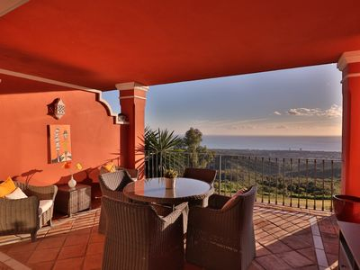 Photo for Luxurious Apartment - an oasis of tranquility in Elviria, Marbella