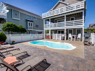 Photo for Moby's Landing   856 ft from the beach   Private Pool, Hot Tub