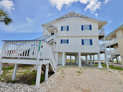 Photo for Book 3+ nights, get 1 FREE! Amazing Gulf Front Home, 4 bdrm, Complete Makeover!