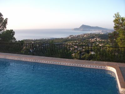 Photo for Chalet For 6 With Private Pool And Wonderful Sea Views Near Golf Course