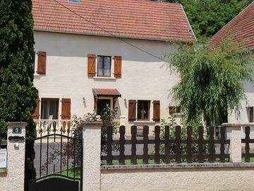 Spacious holiday home with playground equipment and atmospheric furnishings, in a nice area