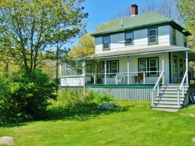 Photo for Classic 4 BR waterfront cottage steps from the beach, big yard, beautiful views!