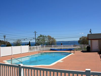 Photo for Ocean views, heated pool and minutes from Acadia National Park entrance