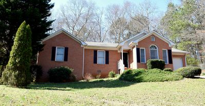 Photo for Charming brick home mins from UGA & dwtn Athens. Sleeps 6 adults and 2 children.