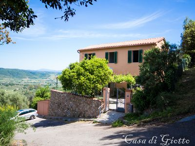 Photo for Private house for holidays in the Tuscan Maremma with garden and wonderful view