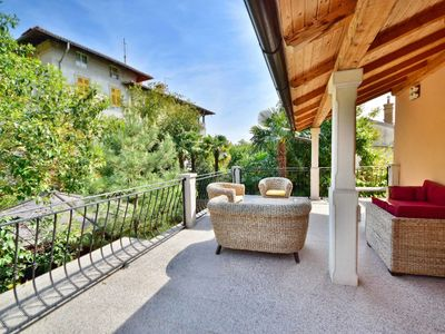 Photo for Stunning private villa with A/C, WIFI, TV, washing machine and pets allowed