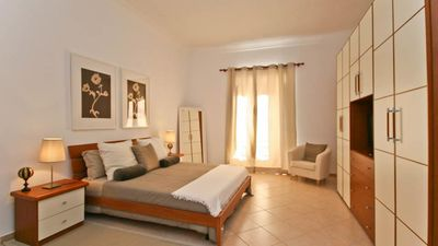 Photo for Beautiful Red & White modern apartment, located a few steps from the Vatican Museums and the Metro