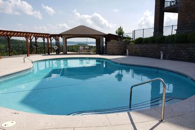 Lovely Pool Overlooking Table Rock Lake.