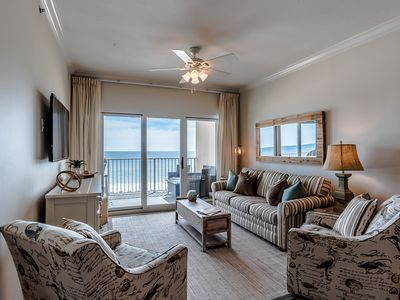 Brand New Rental! Updated! Great 5th floor beach front location! Walk to dine!