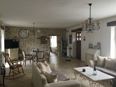 Photo for Charming house with Jacuzzi and sauna 200km from Paris.