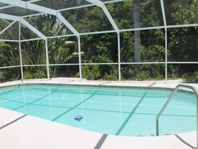 Photo for Quiet Neighborhood,  Solar Heated Pool and just 5 minutes from the Beach