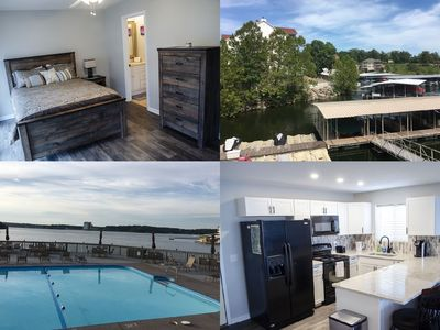 Photo for JUST REMODELED!! Beautiful waterfront condo! Boat slip included in the price!