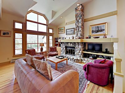 Photo for Turnkey - 4BR Beaver Creek Townhouse Near World Class Slopes: Ski In/Ski Out!